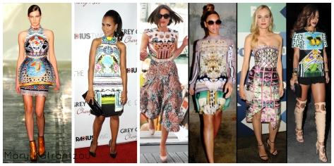 runway, Keri Washington, Keira Knightley, Beyonce, Diane Kruger, Rihanna