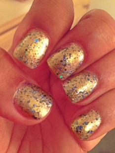 "The Sparklers: ""Law of Attraction. 3 coats"