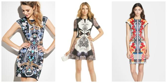 Neoprene Dresses for Spring