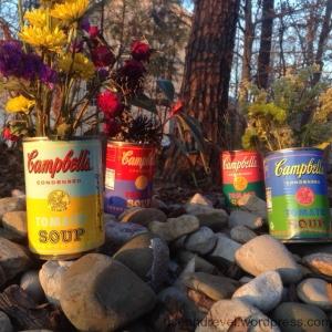 pop art cans