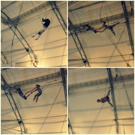 trapeze tricks