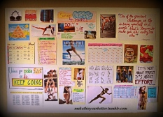 motivations wall