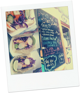 Korean BBQ Taco edamame taco Vietnamese tofu sandwich