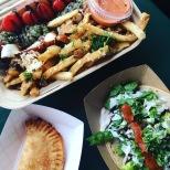 Union Market eats: takorean, swizzler, dc empanadas
